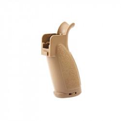 VFC Grip moteur pour HKG28 et HK417 AEG - Tan (ral 8000) -