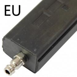 Préparation chargeur MP9 ASG GBBR en HPA (high flow) -