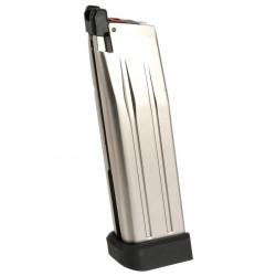 Armorer Works chargeur gaz pour Hi-CAPA 5.1 AW - silver