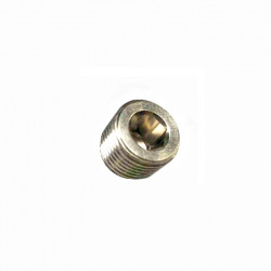 P6 plug screw 1/8 NPT no head