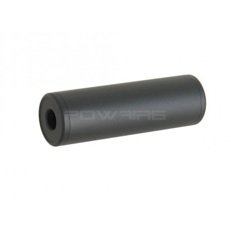 flat surface 100mm aluminium dummy silencer black -