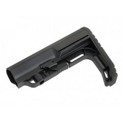 MFT style stock MFT for M4 AEG (black)