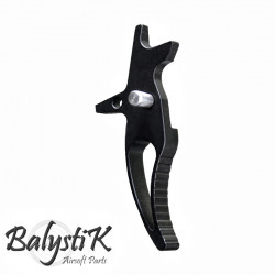 Balystik CNC CURVED Trigger for M4 AEG (black)