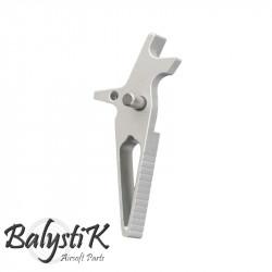 Balystik CNC RACE Trigger for M4 AEG (silver)