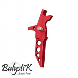 Balystik CNC TACTICAL Trigger for M4 AEG (red)
