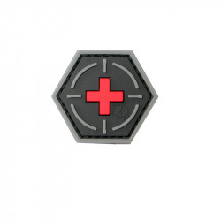 Tactical Medic Red Cross Velcro patch