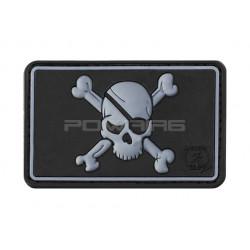Pirate Skull Velcro patch