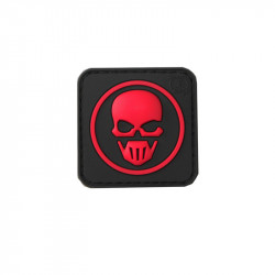 RED CLASSIC Velcro patch
