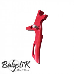 Balystik CNC BLADE Trigger for M4 AEG (red)