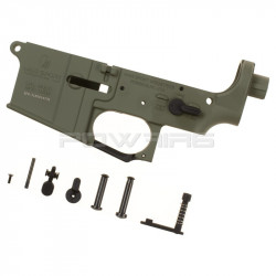 KRYTAC LVOA Lower Receiver Assembly - Foliage Green -