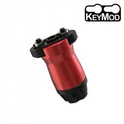 KUGLAI Grip Vertical Aluminium KEYMOD court style Samson - Rouge
