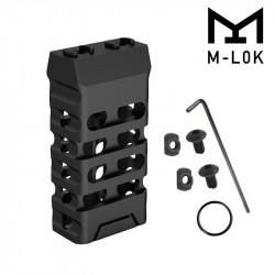 Grip avant court style VTAC M-LOK (Ovale et Noir)