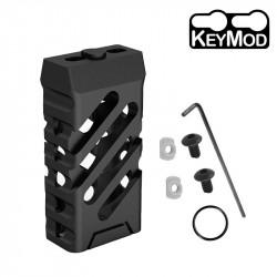 Grip avant court style VTAC KEYMOD (Croisé et Noir) - Powair6.com