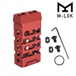 Grip avant court style VTAC M-LOK (Ovale et Rouge)