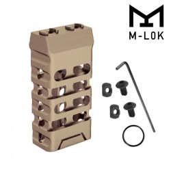Grip avant court style VTAC M-LOK (Ovale et Dark Earth)