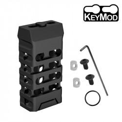 Ultralight VTAC style short Grip KEYMOD (Oval & black) -
