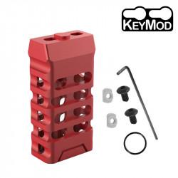 Grip avant court style VTAC KEYMOD (Ovale et Rouge) - Powair6.com