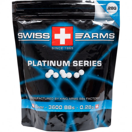 Swiss Arms bille 0.28gr sachet de 1kg - Powair6.com