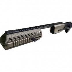 Tokyo Arms T-REX Full CNC PCSS Carbine Kit for G17/19/22/34 GBB TAN - Powair6.com