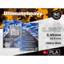 BLS bille bio 0.36gr sachet de 1000 bbs - Powair6.com