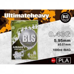 BLS bille bio 0.43gr sachet de 1000 bbs - Powair6.com
