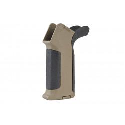 ARES Amoeba Pro Beavertail Backstrap Grip for M4 AEG - BK / DE -