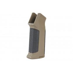 ARES Amoeba Pro Straight Backstrap Grip for M4 AEG - BK / DE -