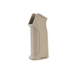 ARES Amoeba Pro Straight Backstrap Grip for M4 AEG - Dark Earth -
