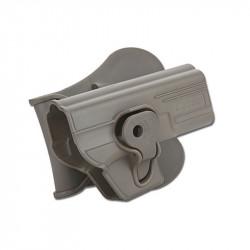 CYTAC Hardshell Pistol Holster - Airsoft Glock series (WE TM KJ) FDE - Powair6.com