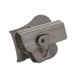 CYTAC Holster rigide pour series Glock airsoft (WE TM KJ) FDE