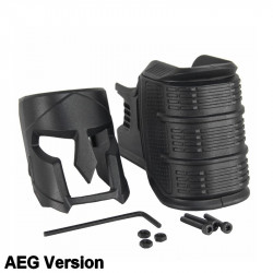 KUBLAI Mojo style Ergonomic Magwell Grip for AEG M4 - Black -