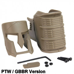 KUBLAI Mojo style Ergonomic Magwell Grip for GBB / PTW M4 - DE -