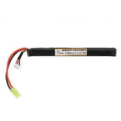 IPOWER batterie LIPO 11,1V 1200Mah 20C stick pour AK ( Mini tamiya ) -