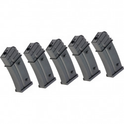 G&G 110 rds Magazine for GEC36 (5 pack) -
