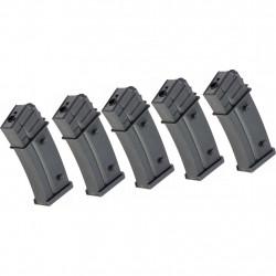 G&G pack de 5 chargeurs mid cap 110 bbs pour GEC36 - Powair6.com