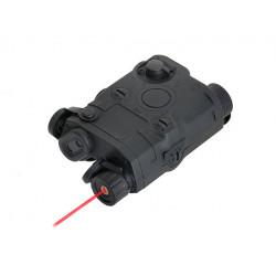 FMA Boitier ANPEQ noir pour batterie + laser rouge