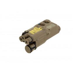FMA Boitier AN/PEQ 16 Dark Earth pour batterie -