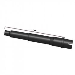 """MTW Outer Barrel 7"""" Aluminum 6061 T6, Milspec Wolverine -"""