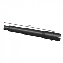 "MTW Outer Barrel 7"" Aluminum 6061 T6, Milspec Wolverine - Powair6.com"