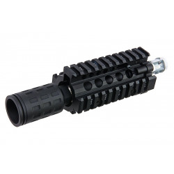 G&P Daniel Defense Transformer MTFC Front Set 4.5 inch Black - Powair6.com
