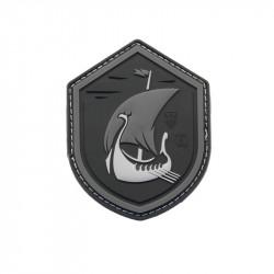 Dragonship at Night Velcro patch - Powair6.com