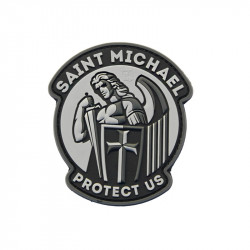 Saint Michael protect US Velcro patch - Powair6.com
