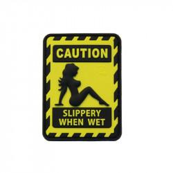 Slippery When wet Velcro patch - Powair6.com