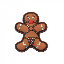 Bondaged Gingerbread Velcro patch -