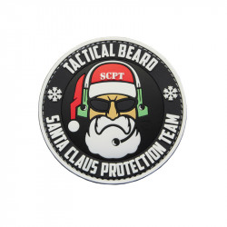 Tactical Beard SANTA CLAUS Protection Velcro patch -