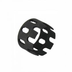 Aluminium CNC M4 Stock Tube Locking Nut Black - Powair6.com