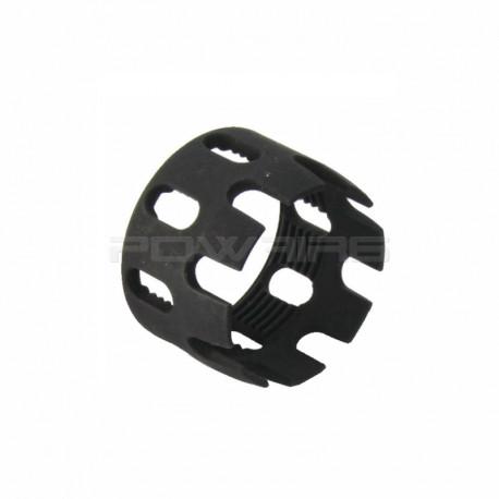 Anneau de serrage aluminium CNC pour tube de crosse M4 Noir