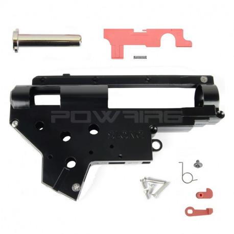 SLONG AIRSOFT coque Gearbox V2 renforcée 8mm avec système QD - Powair6.com