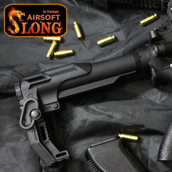 "SLONG AIRSOFT ""Ngel of Death"" stock for M4 AEG / GBB - Powair6.com"
