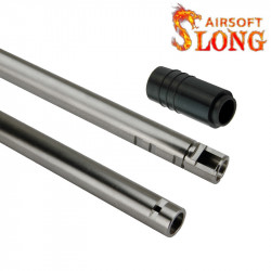 SLONG AIRSOFT canon 6.05mm pour AEG / GBB avec joint AEG - 113mm